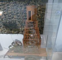 1°GM 1915 Observatoire de Tranchée Maquette Paris
