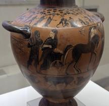Etrurie Céramique Hydrie Achille vs Mennon Rome MNE