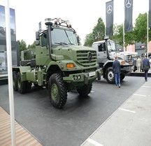 Mercedes Zetros 3643 AS 6x6 Eurosatory 2018