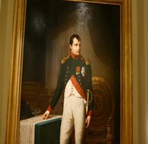 Peinture XIXe Napoleon en Colonel Chasseurs à Cheval gardre Paris Carnavalet