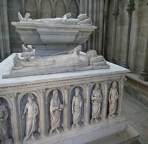 Seine St Denis St Denis Basilique.Tombeau des Orleans Philippe d 'Orléans Comte de Vertus