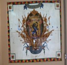 1713 Pays Bas Autrichiens Drapeaux Bruxelles