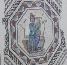Mosaïque Rome France Vienne Mosaique d'Orphée