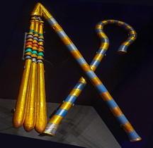 Egypte Trésor de Toutânkhamon  Le Sceptre et le Fléau