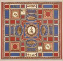 Rome 0 Thermes Rione Monti Esquilin Thermes de Titus Fresques Relevés renaissance