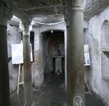 Rome Rione Ripa Forum Boarium Santa Maria in Cosmedin Crypte d' Adrien I-Ara massima di Ercole invitto