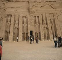 Abou Simbel Temples Hémispéos  Petit Temple