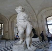2 Statuaire Renaissance Esclaves  Esclave Rebelle  Michel Ange Paris Louvre