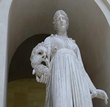 Statuaire Rome Melpomène  Paris Louvre