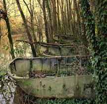 Barges abandonnées Bretagne