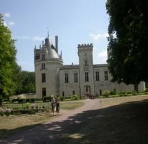 Maine et Loire  Brézé Chateau