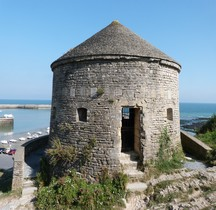Calvados Port en Bessin-Huppain Tour Vauban