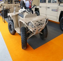 Defenture  Scorpion 6.6 Tactical Army Diesel Quad Eurosatory 2018