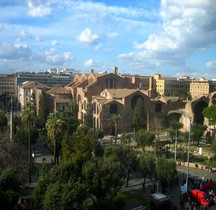 Rome Rione Castro Pretorio les Thermes de Dioclétien