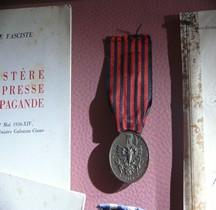 1940 Medaglia commemorativa della spedizione in Albania Coniazione Stefano Johnson-Milano (Crippa Emilio)