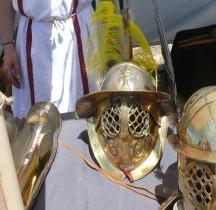 Gladiateur Thrace Casque Loupian 2010