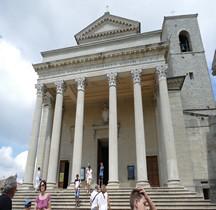 Republica San Marino  Basilica san Marino
