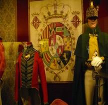 1809 Drapeau Miquelettes de Vich Gérone Salon Musée Emperi