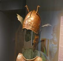 Militaria Samnium Casque Samno Attique Bronze IVe MACM Mougins