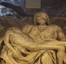 Statuaire Renaissance Pieta Vaticana Rome Vatican