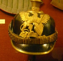1914 Pickelhaube  Bade IR Nr. 169 Salon