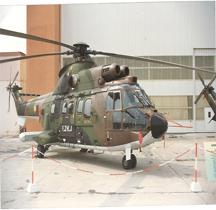 Eurocopter AS532U-2 Cougar Horizon