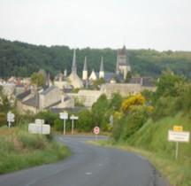 Maine et Loire Fontevraud Abbaye de Notre Dame de Fontevraud