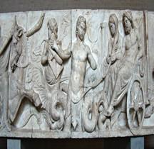Statuaire Rome Bas relief Domitius Ahenobarbus Munich Glypothèque