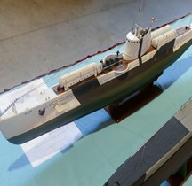 Sous marin Scire 1942 Maquette Nimes 2019