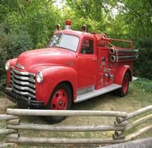 Chevrolet  6400 Modèle 1953  Fire truck