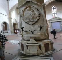 Florence Basilica di Santa Croce Interieur Tombe de Francesco Nori
