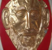 Bijoux Grèce Mycènes Masque Agamenon
