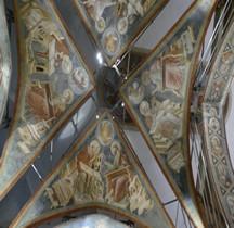 Ravenne Santa Chiara Fresques de Pietro da Rimini