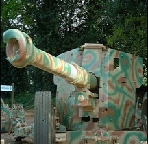 Canon anti Char PaK 43/41  St Marcel