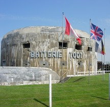 Atlantikwall Pas de Calais.BatterieTodt Turm  1