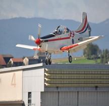 Pilatus PC 9 M Krila Oluje Wings of Storm Payerne 2014