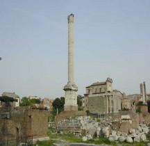 Rome Rione Campitelli Forum Romain Colonne de Phocas  Columna Phocatis