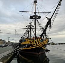 1741 HMS Blandford Etoile du Roy St Malo 2019