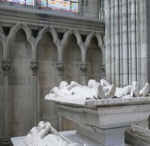 Seine St Denis St Denis Basilique.Tombeau des Orleans Louis d'Orleans