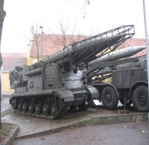 Missile Sol Sol R11 M8U218 TEL SS-1b Scud-A Pologne