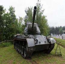 Char Moyen M 47 Patton Allemagne