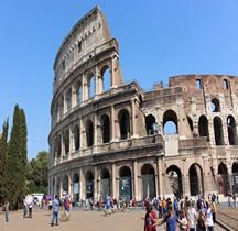 Rome Rione Celio  Amphithéatre Flavien Exterieur
