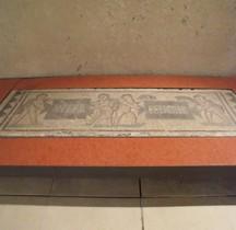 Mosaïque Rome Italie Castello Ursino - Utere Felicter Catane