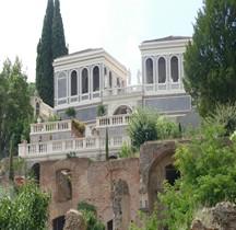 Rome Rione Campitelli Palatin Belvédere Farnèse