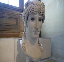 Statuaire Antinous Mondragone Paris Louvre