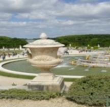 Yvelines Versailles Chateau Jardins Vases