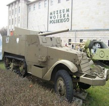 Half track T48 57 mm Gun Motor Carriage Varsovie