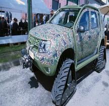 Roumanie Dacia Duster Pick Up Tracked ACF Eurosatory 2016