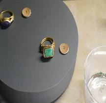 .550 Bagues avec gemme Reine Arégonde SGL MAN