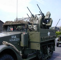 Half Track M16A1  Multiple Gun Motor Carriage Lodève